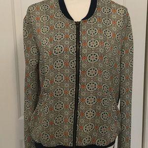Women's shirt size Medium Front zipper